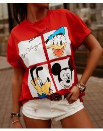 T-shirts - kod 964 - 2 - red