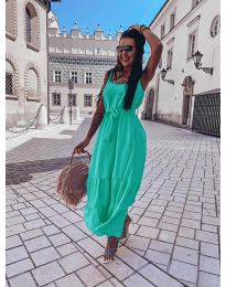 Dresses - kod 1230 - green