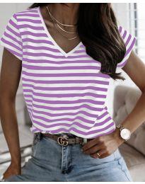 T-shirts - kod 690 - purple