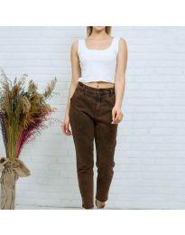 Jeans - kod 8254 - 2 - brown