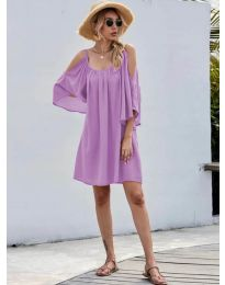 Dresses - kod 3022 - purple