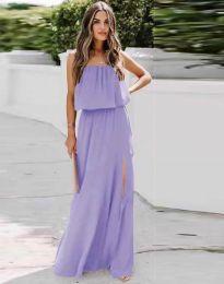 Dresses - kod 8871 - purple