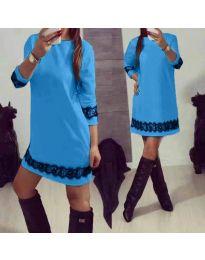 Dresses - kod 345 - light blue