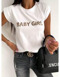 T-shirts - kod 983 - 1 - white