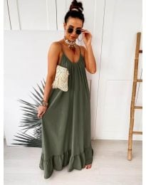 Dresses - kod 2218 - army green