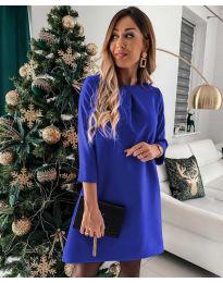Dresses - kod 1042 - sky blue