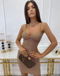 Dresses - kod 11808 - cappuccino