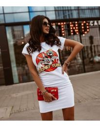 Dresses - kod 0303 - white