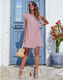 Dresses - kod 6261 - powder