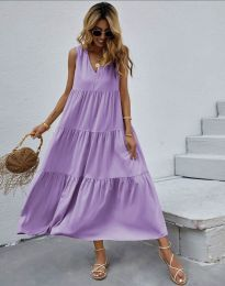 Dresses - kod 8149 - purple