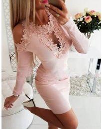 Dresses - kod 568 - pink