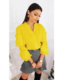 Shirts - kod 683 - yellow