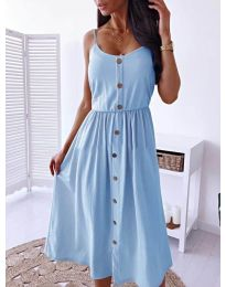 Dresses - kod 5057 - light blue