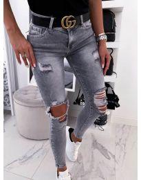 Jeans - kod 3622 - 1 - light grey
