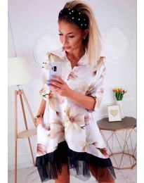 Dresses - kod 599 - white