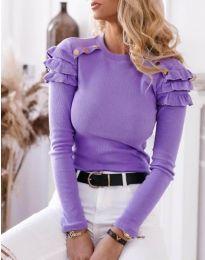 Blouses - kod 1645 - 4 - purple
