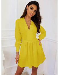 Dresses - kod 089 - mustard