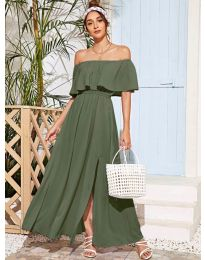 Dresses - kod 698 - army green