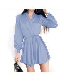 Dresses - kod 8754 - light blue