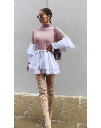 Dresses - kod 1188 - pink
