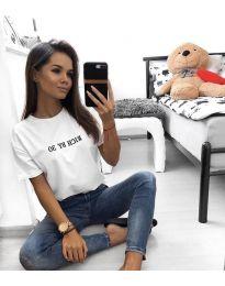 T-shirts - kod 951 - 2 - white