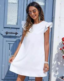 Dresses - kod 6261 - white