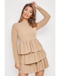 Dresses - kod 966 - beige