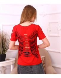T-shirts - kod 3567 - red