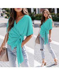 Blouses - kod 0009 - turquoise
