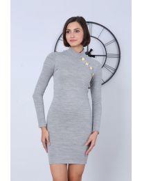 Dresses - kod 7099 - 5 - gray