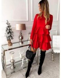 Dresses - kod 966 - red