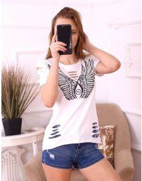 T-shirts - kod 3567 - white