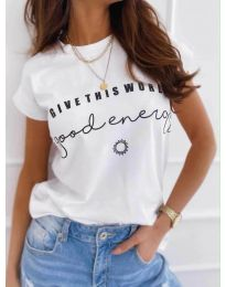 T-shirts - kod 933 - white