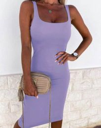 Dresses - kod 8899 - purple