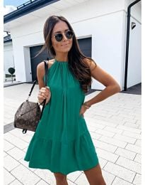 Dresses - kod 632 - green