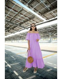 Dresses - kod 3636 - purple
