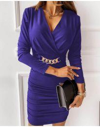 Dresses - kod 8999 - purple