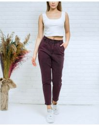 Jeans - kod 8254 - bordeaux