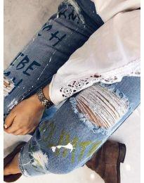 Jeans - kod 3427 - sky blue