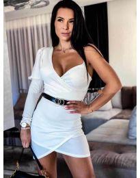 Dresses - kod 803 - white