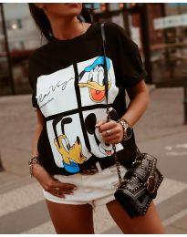 T-shirts - kod 964 - 1 - black
