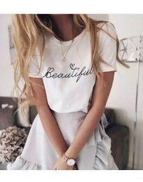 T-shirts - kod 980 - white
