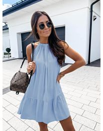 Dresses - kod 632 - light blue