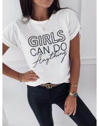 T-shirts - kod 3581 - white