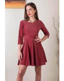 Dresses - kod 923 - bordeaux
