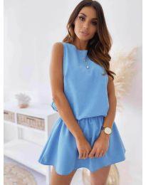Dresses - kod 477 - light blue