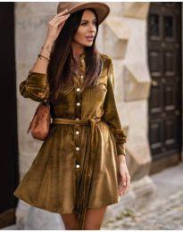 Dresses - kod 3999 - brown