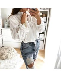 Shirts - kod 892 - white