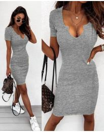 Dresses - kod 8829 - gray