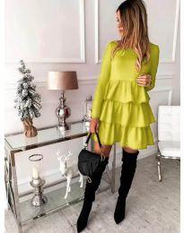 Dresses - kod 966 - yellow